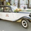Постер, плакат: Retro car citroen