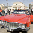 Постер, плакат: Retro car cadillac devil
