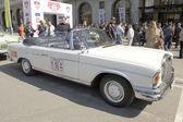 Retro car mercedes benz — Stock Photo