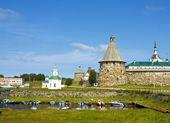 Mosteiro de Solovki, Rússia — Fotografia Stock