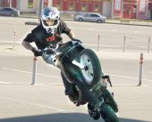 Moscow, festival of extreme motosport — Stock Photo