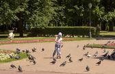 Moscow, Lefortovsky park — Stock Photo