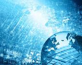 グローバル ビジネス - ストック イメージのインターネットの概念 — ストック写真