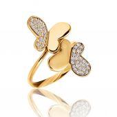 O melhor anel de noivado. Melhor casamento e anel de noivado — Fotografia Stock