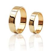 Melhor casamento e anel de noivado. Símbolo do amor — Fotografia Stock