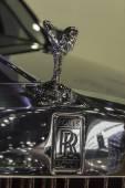 Logos of  Rolls Royce Phantom Extended Wheelbase — Stock Photo