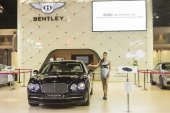 Bentley The new Flying Spur Car — Stock Photo