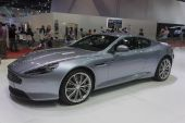 Aston Martin New DB9 Coupe Car — 图库照片