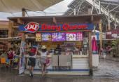кремовый магазин — Стоковое фото