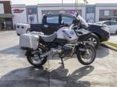 BMW GS Touratech Motorcycle — Foto de Stock