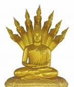 Thai golden Buddha statue — Stock Photo