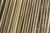 Stapel van platen — Stockfoto