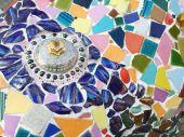Ceramic pattern decoration — Foto de Stock