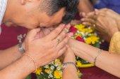 Songkran Festivali — Stok fotoğraf