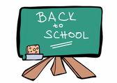 Doodle back to school — Stock Photo