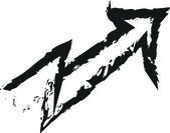 Doodle arrow — Stock Photo