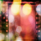 Retro color film strip background and texture — Stok fotoğraf