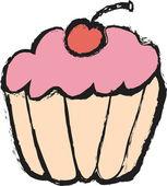 漫画ケーキ — ストック写真