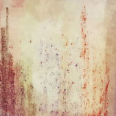 Abstract grunge wall background with color brush strokes — ストック写真