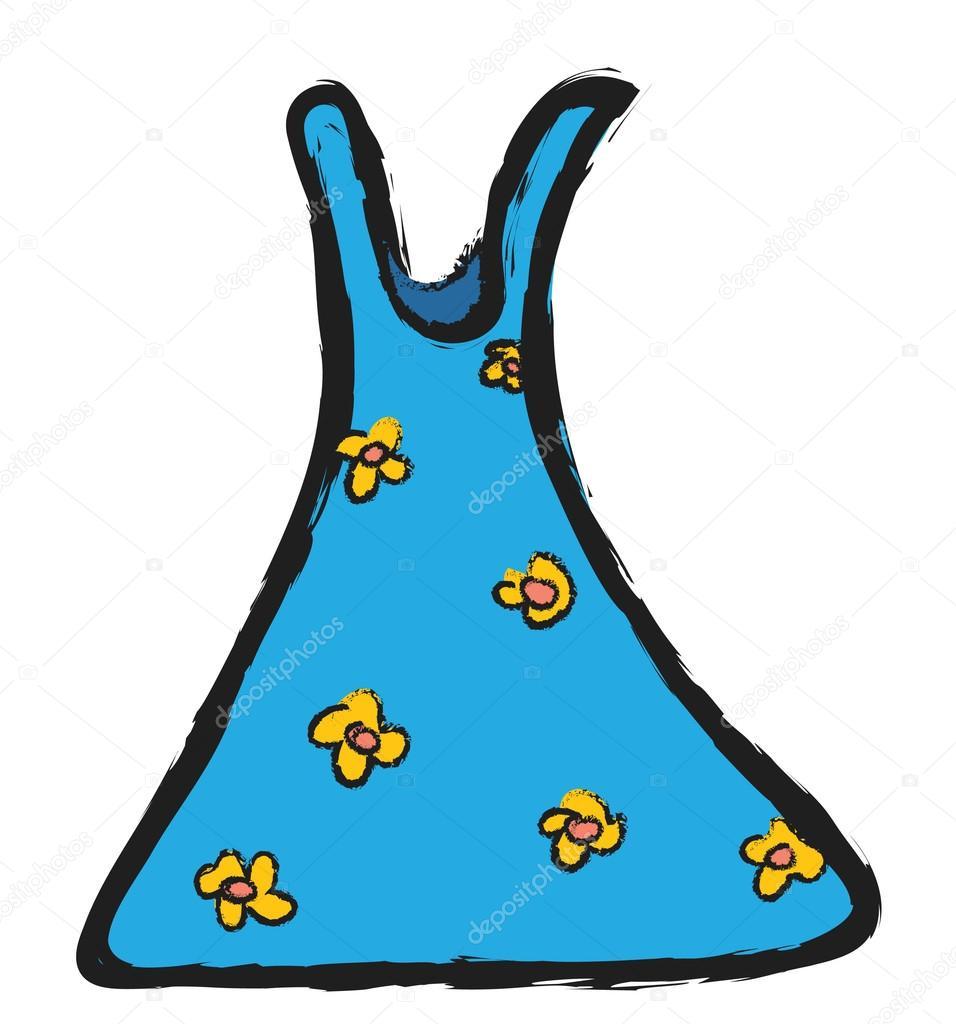 卡通夏装与花 图库照片 169 Dusan964#67903987
