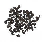 Pile black coal isolated on white background — Stock Photo