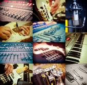Music concept — Stock Photo