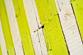 Painted fence — Stock Photo