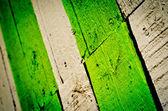 Valla pintada — Foto de Stock