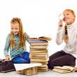 Two little girls — Stock Photo #70573133