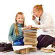 Two little girls — Stock Photo #70573139