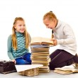 Two little girls — Stock Photo #70573143