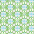 Seamless pattern with enamoured birdies — Vecteur #58923609