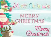 Merry Christmas! — Vector de stock