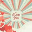 Abstract valentine background — Stock Vector #61140173