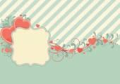 Sfondo astratto san valentino — Vettoriale Stock