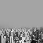 Cidade de visão de cima — Fotografia Stock