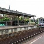 místní staré vlasti vlakové nádraží — Stock fotografie #63438103