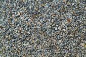 Gravel stone background — Stock Photo