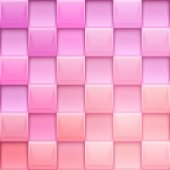 Squares pink background — Stock vektor