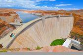 Glen Canyon Dam in Page AZ USA — Stock Photo
