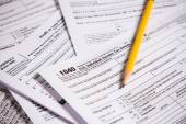 United States Tax forms  — Stock Photo
