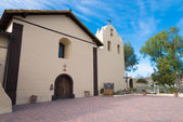 Old Spanish mission in Solvang California — Stock Photo