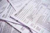 United States Tax forms  — Stockfoto
