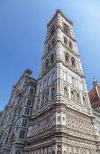 Duomo Santa Maria Del Fiore and Campanile.  — Foto de Stock