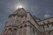 Kathedrale von pisa — Stockfoto