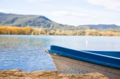 Boat in a lake — Stock Photo