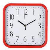Zegar ścienny na białym tle. dziesięć ostatnich dziesięciu. — Zdjęcie stockowe