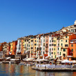 Traditional Mediterranean architecture of Portovenere, Italy — Stock fotografie #52917417