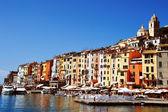 Traditional Mediterranean architecture of Portovenere, Italy — Stock Photo