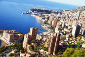 View of the city of Monaco. French Riviera — Stock Photo